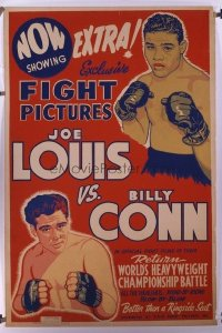 102 JOE LOUIS & BILLY CONN 40x60