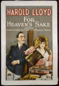 126 FOR HEAVEN'S SAKE ('26) linen 1sheet