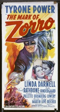 055 MARK OF ZORRO ('40) linen 3sh