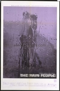 1583 RAIN PEOPLE one-sheet movie poster '69 Francis Ford Coppola, cool!