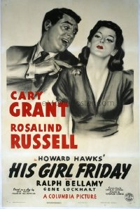 205 HIS GIRL FRIDAY linen 1sheet