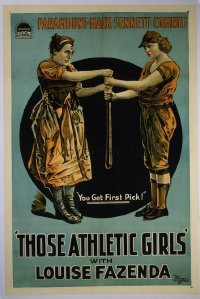101 THOSE ATHLETIC GIRLS linen 1sheet