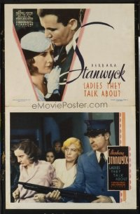 #286 LADIES THEY TALK ABOUT 8 LCs33 Stanwyck