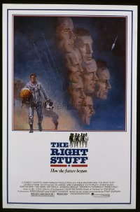 4680 RIGHT STUFF one-sheet movie poster '83 first astronauts!