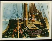 v363h 7TH VOYAGE OF SINBAD  LC #4 '58 Ray Harryhausen