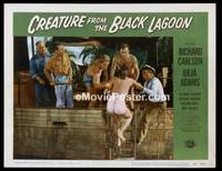 v047g CREATURE FROM THE BLACK LAGOON  LC #2 '54 sexy gal!