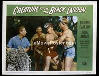 v047h CREATURE FROM THE BLACK LAGOON  LC #3 '54 diving!
