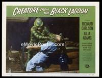v047c CREATURE FROM THE BLACK LAGOON  LC #5 '54 attacks!