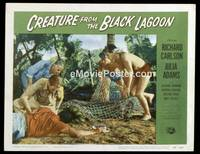 v047f CREATURE FROM THE BLACK LAGOON  LC #6 '54 in net!