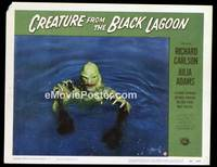 v047b CREATURE FROM THE BLACK LAGOON  LC #8 '54 close up!