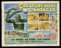 v053a CREATURE WALKS AMONG US  TC '56 great sequel!