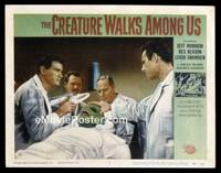 v053f CREATURE WALKS AMONG US  LC #4 '56 operating on him!