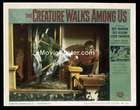 v053b CREATURE WALKS AMONG US  LC #5 '56 breaks door!