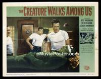 v053e CREATURE WALKS AMONG US  LC #8 '56 he's sick!