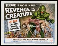 v050a REVENGE OF THE CREATURE  TC '55 great artwork!