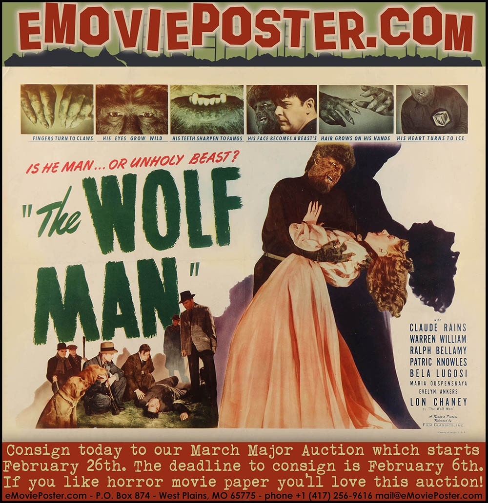 Vintage movie poster buyers