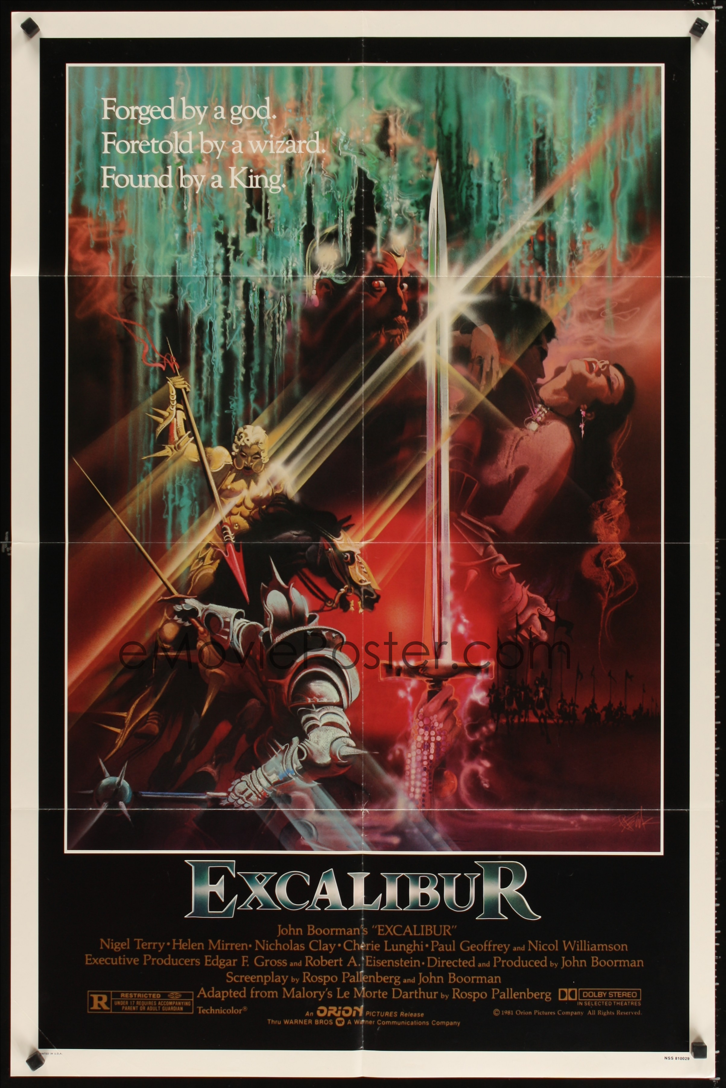 Image result for excalibur poster