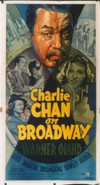 CHARLIE CHAN ON BROADWAY linen 3sh