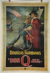 DON Q SON OF ZORRO linen 1sheet