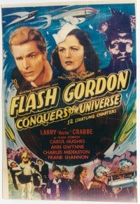 FLASH GORDON CONQUERS THE UNIVERSE R40s 1sheet