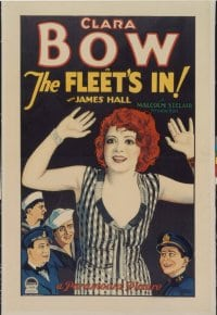 FLEET'S IN ('28) linen 1sheet