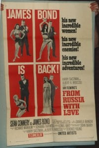 FROM RUSSIA WITH LOVE linen 1sheet