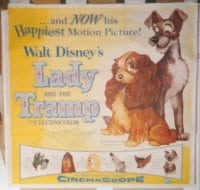 LADY & THE TRAMP R50s, linen 6sh