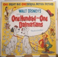 ONE HUNDRED & ONE DALMATIANS linen 6sh
