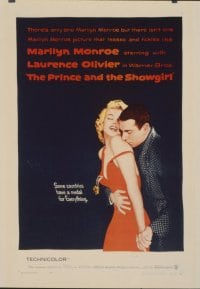 PRINCE & THE SHOWGIRL linen 1sheet