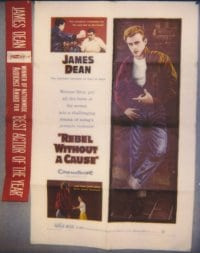 REBEL WITHOUT A CAUSE linen 1sheet