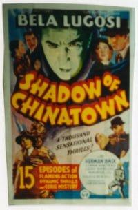 SHADOW OF CHINATOWN 1sheet