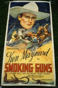 SMOKING GUNS ('34) linen 3sh