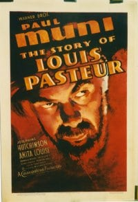 STORY OF LOUIS PASTEUR linen 1sheet