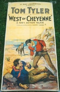 WEST OF CHEYENNE linen 3sh