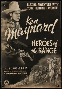 Cool Item Of the Week: Heroes of the Range pressbook