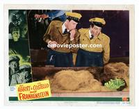 #043 ABBOTT & COSTELLO MEET FRANKENSTEIN lobby card #2 '48 cool!!