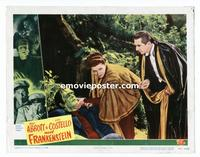 #041 ABBOTT & COSTELLO MEET FRANKENSTEIN lobby card #4 '48 great!!