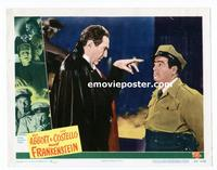#040 ABBOTT & COSTELLO MEET FRANKENSTEIN lobby card #6 '48 Lugosi!