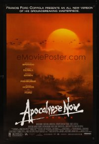 1205UF APOCALYPSE NOW redux 1sh R01 revised version with two major formerly cut scenes, Bob Peak!