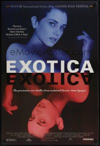 0475UF EXOTICA 1sh '95 Atom Egoyan directed, Canadian nightclub sex, sexy stripper!