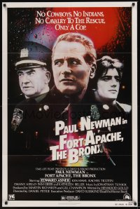 0159FF FORT APACHE THE BRONX 1sh '81 Paul Newman, Edward Asner & Ken Wahl as New York City cops