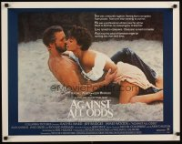 1517UF AGAINST ALL ODDS int'l 1/2sh '84 Jeff Bridges makes out with Rachel Ward on the beach!