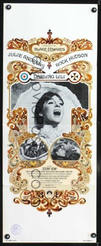 0641FF DARLING LILI insert '70 Julie Andrews, Rock Hudson, Blake Edwards, William Peter Blatty