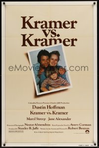 0240FF KRAMER VS. KRAMER 1sh '79 Dustin Hoffman, Meryl Streep, child custody & divorce!