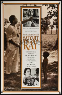 0481UF MASTERWORKS OF SATYAJIT RAY 1sh '95 film festival of the top Indian director!
