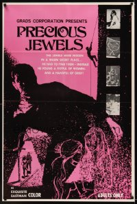 0528FF PRECIOUS JEWELS 1sh '69 a fistful of sexy women & a handful of grief!