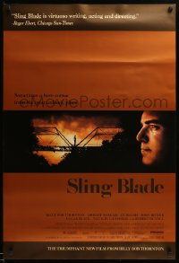 2357UF SLING BLADE DS 1sh '96 profile image of star & director Billy Bob Thornton as Carl!