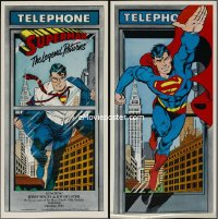 0618UF SUPERMAN THE LEGEND RETURNS 2-sided special18x37 '88 great art as Clark Kent & in costume!