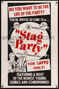 0530FF STAG PARTY 1sh '70s become the life of the party, for laffs only!