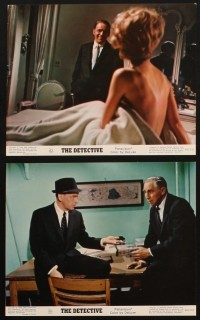 1366 DETECTIVE 8 color 8x10 stills '68 Frank Sinatra as a gritty New York City cop!